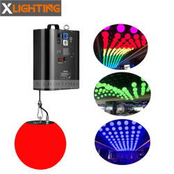 DMX RGB anhebende Aufzug-Kugel der Kugel-LED/kinetisches Beleuchtungssystem für Disco-Verein-Stab