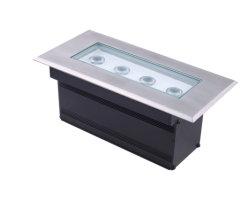 RGB 선형 언더그라운드 램프 18W 24W 36W 직사각형 LED 인그라운드