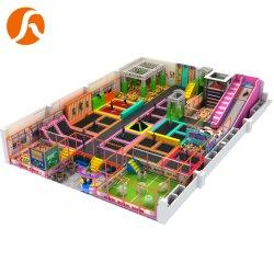Роскошные комбинированные батут парк смешные перейти с игровой площадкой для установки внутри помещений комплекса