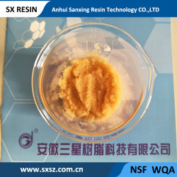 001*8 Gel de la serie de estireno ácido fuerte de resina de intercambio catiónico - resina de intercambio iónico - Agua Suavizador Softening-Water Treatment-Water
