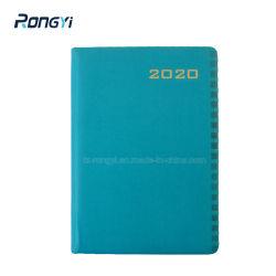 Weiche Note glattes PU-materielles Notizbuch mit kundenspezifischem Firmenzeichen
