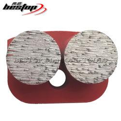Nuevas herramientas de diamante molido con el doble de los segmentos de botón