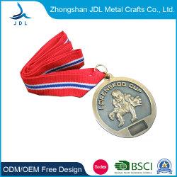 맞춤형 3D 앤틱 실버/니켈 금속 크래프트 밀리터리 메달(004)