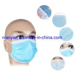 op-geweven AntiVirus Mascarilla 3 Maskeren van het Gezicht van de Vouw het Beschikbare