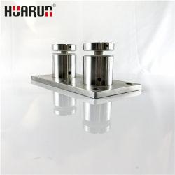 Montaggi del corrimano dell'acciaio inossidabile per la balaustra di vetro della scala di asta della ringhiera dell'inferriata modulare esterna