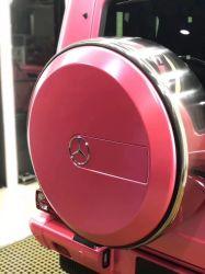 Новые продукты пузырек воздуха без клея атласная бумага низкого прихватите наклейку матовой металлической фольги розового цвета Pearl пленки