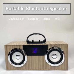 [بورتبل] [هيفي] خشب يزوّد مجساميّة بديل [وووفر] [هوم ثتر] منزل حزب [بلوتووث] المتحدث مع [فم] راديو [أوسب] [أوإكس]