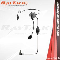 対面ラジオTph700のためのブームマイクロフォンが付いている軽量のヘッドセット