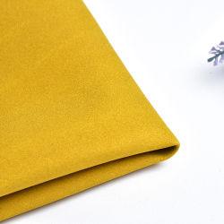 100 Microfiber Veloursleder künstliches PU-Leder, das synthetisches Ziege-nachgemachtes Veloursleder PU-Belüftung-lederne Beschaffenheit sich schart
