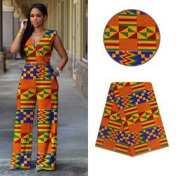 Estilo de Ancara Super Java branca de tecido de algodão para Chitenge Africano vestir