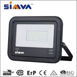 De LEIDENE van Simva Schijnwerper van de Verlichting 50W met Lichte 4000lm (250W equivalent) LEIDENE Icdriver IP65 van Vloed Openlucht Lichte Schijnwerper 3000-6500K met Goedgekeurd Ce