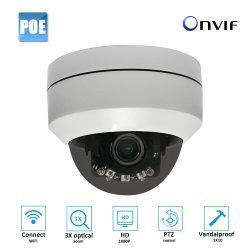 1080P Abdeckung IP-Kamera CCTV-mini wasserdichte WiFi PTZ Poe