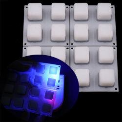 Voyant blanc Compatible tablette du bouton en caoutchouc pour le MIDI du clavier du contrôleur