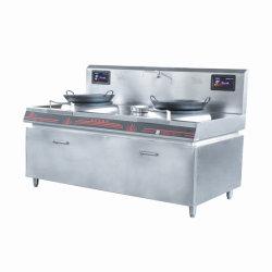 20kw comerciales Double-Headed Aparato de Cocina Cocina Estufa de inducción electromagnética