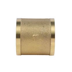 Accouplement en laiton prise adaptateur Mamelon hexagonal de la bague du raccord de tuyau de plomberie