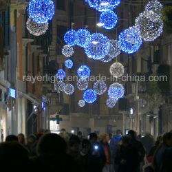 45см LED магазинов оформление Рождество шарик лампа шаровой опоры рычага подвески