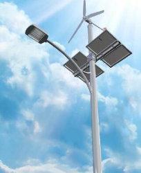 vento di 6metres Palo 40W LED più gli indicatori luminosi di via ibridi solari