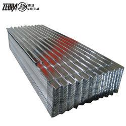 30 / 28 / 26 / 24 el indicador de la placa de acero corrugado Gi Metal Onda Tile China hizo para el mercado americano