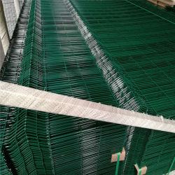 プラスチックサイクロンの鉄条網のフィリピンのPVCによって塗られる溶接された金網