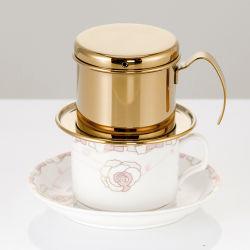 Mini filtro de acero inoxidable Cafetera