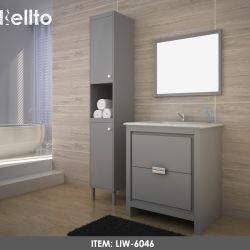高品質によってカスタマイズされる現代的な浴室の虚栄心の単位の卸売のDesginerの浴室用キャビネット(LIW-6046)