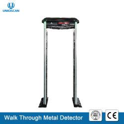 Nova caminhada de segurança através da tampa do detector de metal com materiais de ABS e IP65 à prova de água