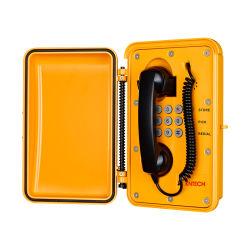 IP66 esterni resistenti rendono il telefono resistente all'intemperie impermeabile industriale Emergency del traforo