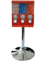 Facile-Riempiendo il distributore automatico triplice di Gumball & della caramella (TR103)
