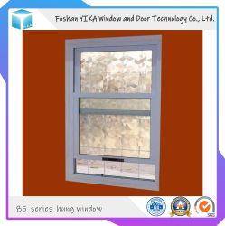 두 배 유리로 열 틈 알루미늄 수직 슬라이딩 윈도우를 입히는 분말