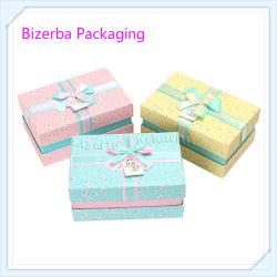 Contenitore di carta impaccante di regalo elegante professionale del cartone con seta