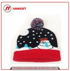 Для вязания светодиодный светильник с Рождества различных цветов свечей Red Hat-Red Hat фестиваль подарки