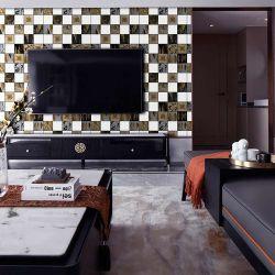 家の装飾のための上の質の PVC の TV の背景の壁紙