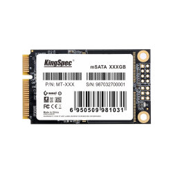 Disque dur SSD MSATA Kingspec TM-512 3D de la NAND MLC Disque dur SSD interne pour le PC industriel/POS/mini PC