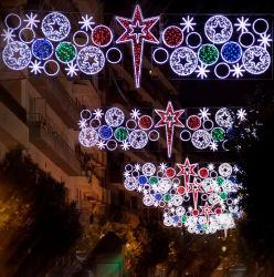 LED de exterior Corda de Natal Luzes Motif para a rua principal de decoração
