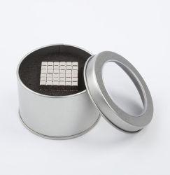 Metaal 3X3X3mm van het Speelgoed van het Onderwijs van de Kubus van het Blok van de magneet Magisch (216 Pak)