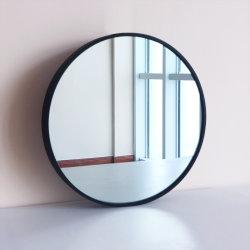 600mm 800mm 900mm übergrosses schwarzes Metall gestaltet ringsum Wand-Spiegel