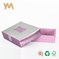 Крышки и нижней части металлик бумага картон косметический упаковке