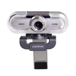 Ausdom Ventes PA452 Papalook Hot Plug and Play USB Mise au point manuelle réglable HD 1080p Webcam avec microphone antibruit pour Skype