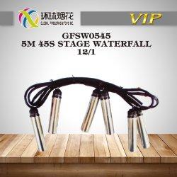 Gfsw0545-5M 45secondes 1.3G 1.4G Stade d'acier Cascade de glace d'affichage extérieur Fireworks