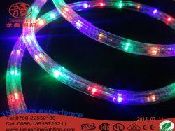 Светодиодный RGB веревки света на Рождество оформление стиле фонари