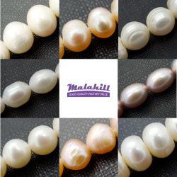 Toutes les formes d'eau douce Perles de perles (vendu par volet 36cm)