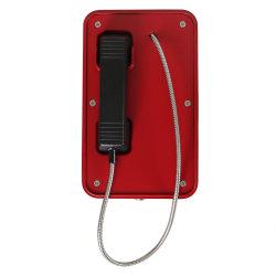 Wetterfeste Hotlines-rote Telefon-Jr101-CB mit der Hand festgemachte im Freien Notruftelefon-Tunnel-Telefone