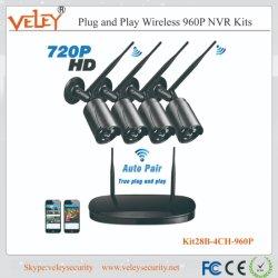 Drahtloses NVR IP-Kamera-Überwachungskamera-Systems-Digital-Videogerät