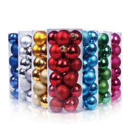 Decorando a vermelho brilhante, de Feliz Natal/Xmas bolas de vidro