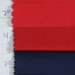 La moda textil Stock 100 Algodón Sarga Tencel tejido Spandex imitación de nuevo diseño de tela teñido de tejidos de prendas de vestir