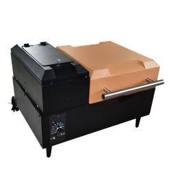 Elevadores eléctricos de pellet fumante Grill Churrasqueira de pelotas de madeira do tampo da mesa com 210. Sq Área de Cozinha
