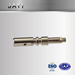 Haste de aço inoxidável, parte de usinagem CNC, Turn-Mill combinação do eixo da haste