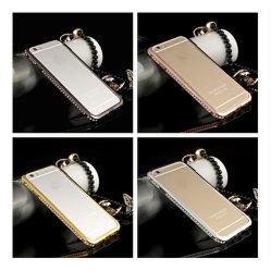Bling Metal Caso Cover Bumper para el iPhone 6
