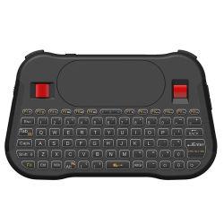 Le plus récent mini portable sans fil 2,4 Ghz Clavier et souris de la tablette tactile avec rétroéclairage commutable 7 couleurs pour l'ordinateur portable Téléphone