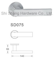 Ручка двери из нержавеющей стали SD075 с строгий контроль качества
